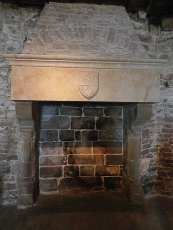 the great hall fireplace