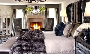 24 Awesome Master Bedroom with Fireplace