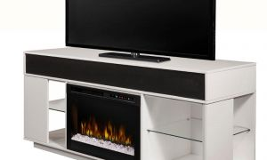 14 Unique Media Console with Fireplace