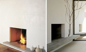 27 Luxury Minimalist Fireplace
