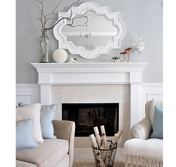mirrors over fireplace mantels stagger mirror fireplace living home interior 16