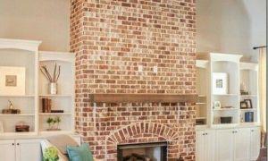15 Awesome Modern Brick Fireplace