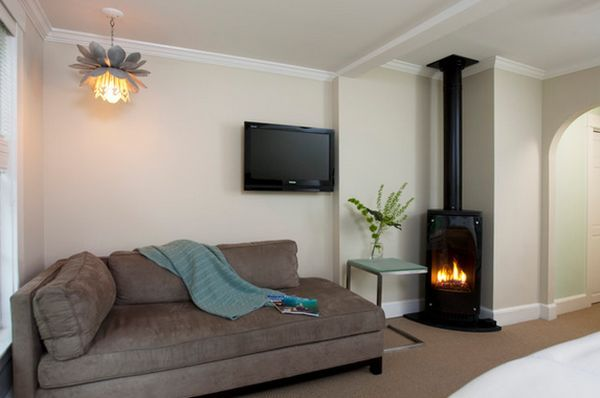 Modern Corner Fireplace Awesome Living Room Freestanding Corner Fireplace
