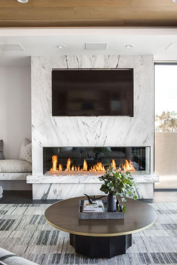 Modern Fireplace Designs Lovely Minimalist Fireplace Design Centsational Style