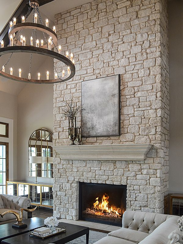 Modern Fireplace Ideas Unique What A Stunning Fireplace and Stone Mantle This Cream