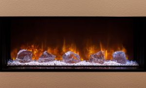 24 Elegant Modern Flame Electric Fireplace