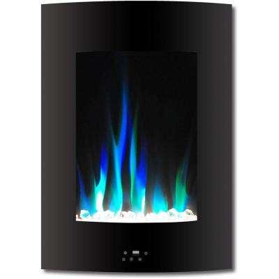 black black hanover wall mounted electric fireplaces f19vwmef 1bk 64 400 pressed