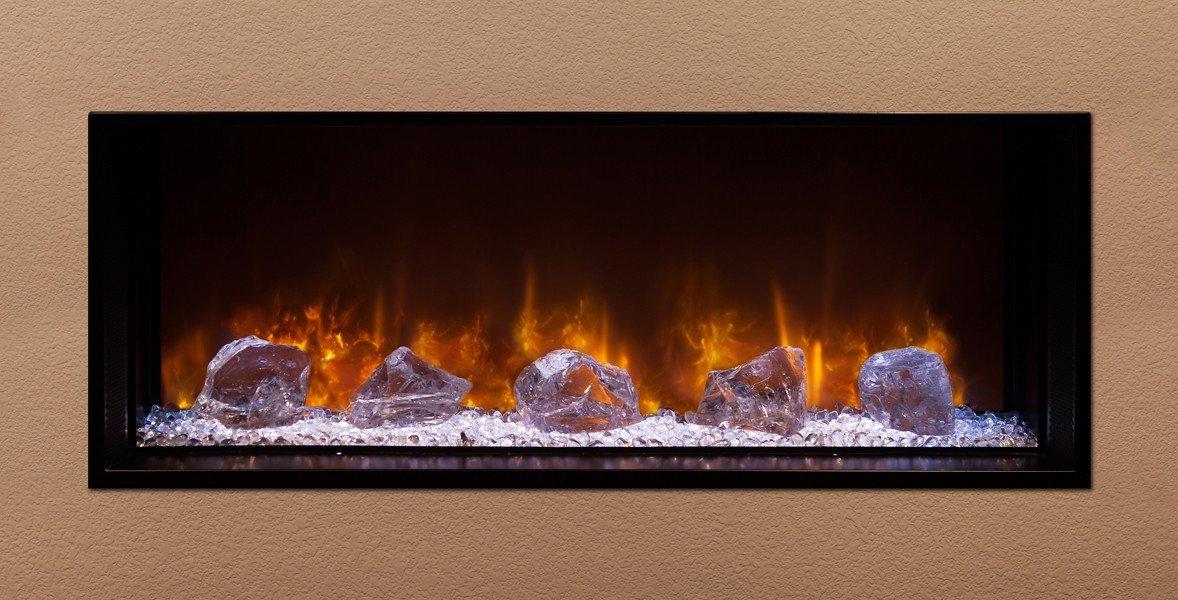 "Modern Flames Electric Fireplace Lovely Amazon Modern Flames Landscape 40""x15"" Fullview Built"