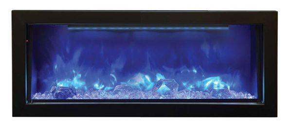amantii 40 inch panorama deep built in electric fireplace with black surround 6