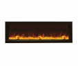 Modern Flames Electric Fireplace Luxury Amantii Panorama Slim 50″ Built In Indoor Outdoor Electric Fireplace Bi 50 Slim