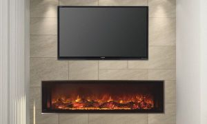 14 Beautiful Modern Flames Fireplace