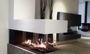 10 Elegant Modern Gas Fireplace Designs