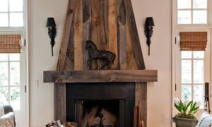 17 Fresh Modern Rustic Fireplace