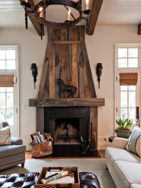 Modern Rustic Fireplace Best Of Rustic Fireplace Projects to Try In 2019