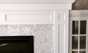 24 New Mosaic Tile Fireplace