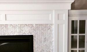 17 Elegant Mosaic Tile Fireplace Surround