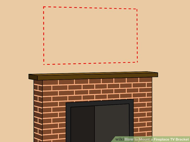 Mounting Tv On Brick Fireplace Fresh How to Mount A Fireplace Tv Bracket 7 Steps with