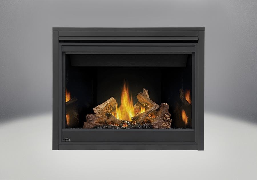 napoleon fireplaces ascent b42 straight logs prrp standard front napoleon fireplaces