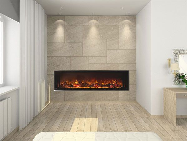 Narrow Electric Fireplace Beautiful Cool Fireplaces Electric Linear Fireplaces Contemporary