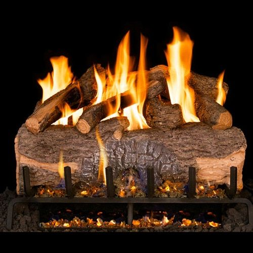 Natural Gas Fireplace Logs Elegant Peterson Real Frye 30 Inch Mountain Crest Oak Gas Logs In