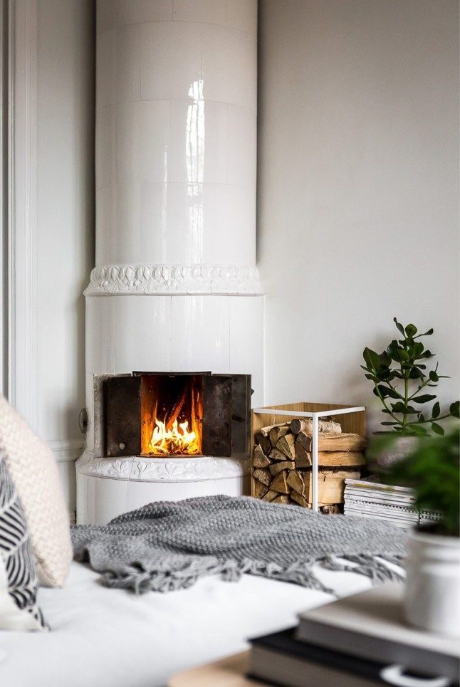 Nordic Fireplace Beautiful Méri Nnes Mises En Sc¨ne