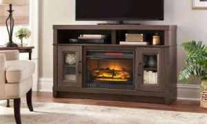 19 Awesome Oak Electric Fireplace Tv Stands