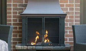 15 Luxury Out Door Wood Fireplace
