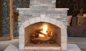 17 Awesome Outdoor Corner Fireplace