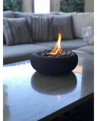 terra flame zen gel fuel tabletop fireplace od tt 03
