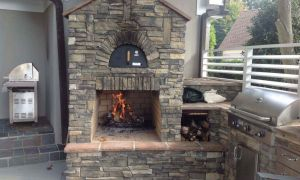 25 Unique Outdoor Fireplace Kit for Sale