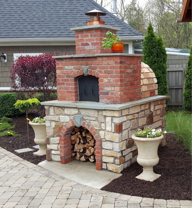 BrickWood Ovens The Hollenbeck Pizza Oven
