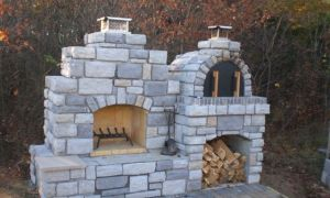 20 Luxury Outdoor Fireplace Kits with Pizza Oven
