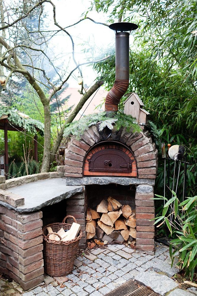 outdoor fireplace and pizza oven bination plans inspirational 13 ideas con ladrillos para el jardc2adn yard pinterest of outdoor fireplace and pizza oven bination plans