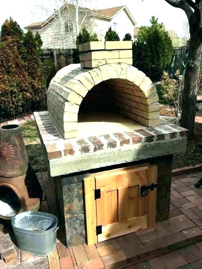outdoor pizza oven brick outdoor od burning fireplace with pizza oven brick s stone