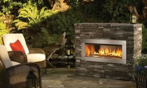 14 Awesome Outdoor Gas Fireplace Kits