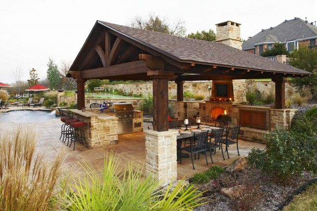 Outdoor Kitchen and Fireplace Best Of Covered Outdoor Kitchen Fireplace Outdoor Living