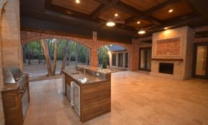 25 Inspirational Outdoor Kitchen with Fireplace