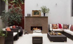 22 New Outdoor Living Spaces with Fireplace