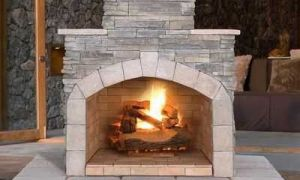14 Awesome Outdoor Masonry Fireplace