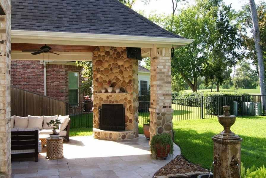 Outdoor Patio Fireplace Ideas New Increase the Efficiency Of Patio Fireplace
