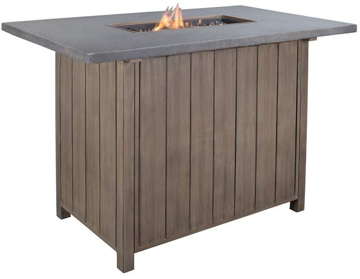 Outdoor Propane Fireplace Unique sol 72 Outdoor Cadence Aluminum Propane Fire Pit Table