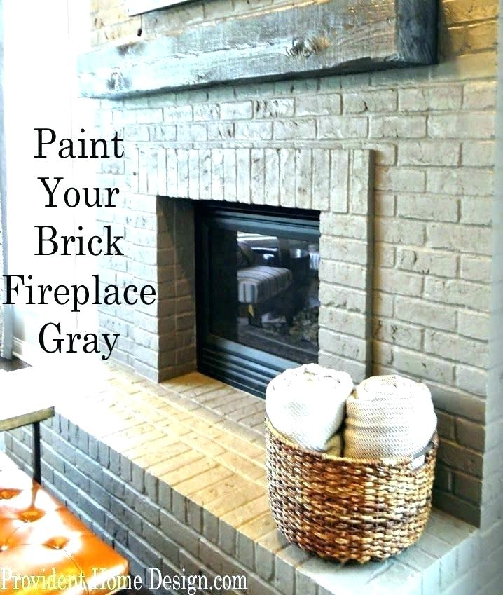 home design a gray brick fireplace painted mantels white surround painting fireplaces paint grey mantel