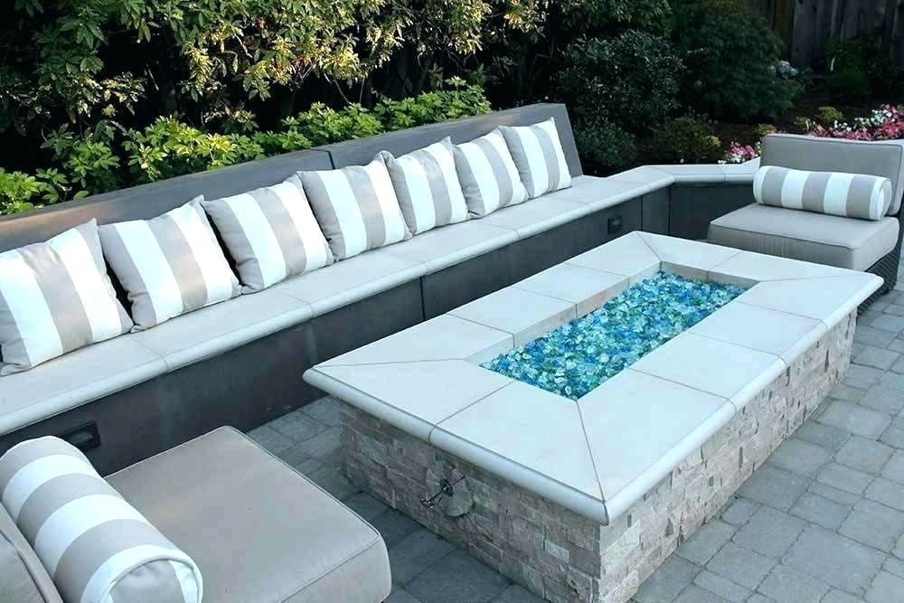 glass beads fire pit home and furniture miraculous gas with rocks in table posh outdoor ideas th