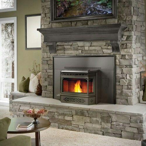 Pellet Fireplace Insert Lovely Pellet Stove Insert Homes
