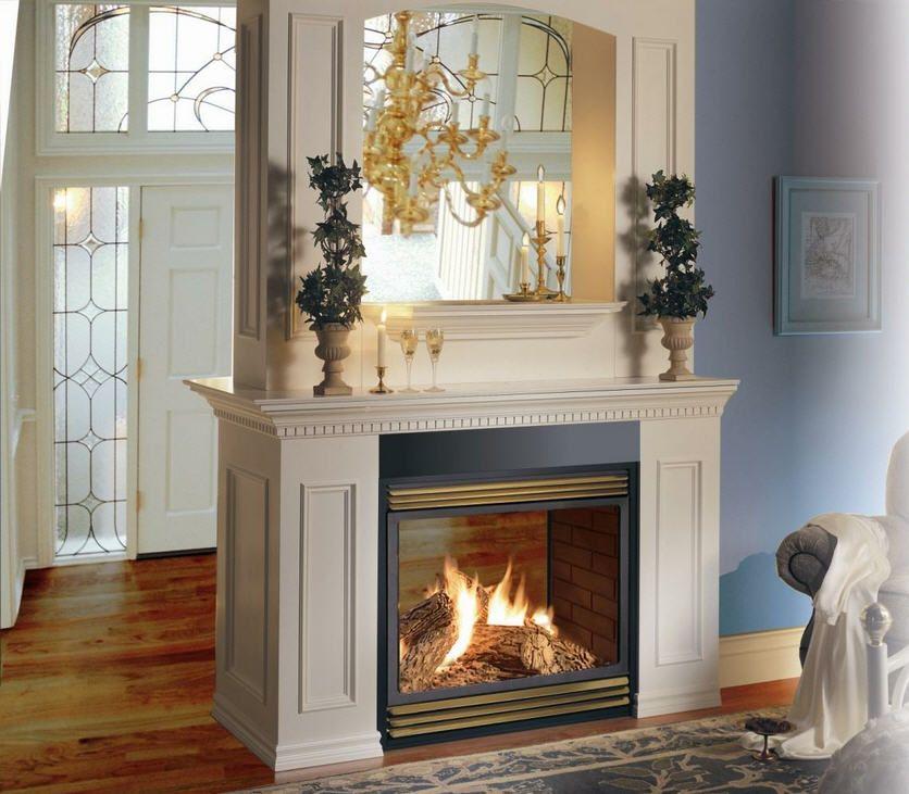 Peninsula Gas Fireplace Beautiful Double Sided Fireplace Homes