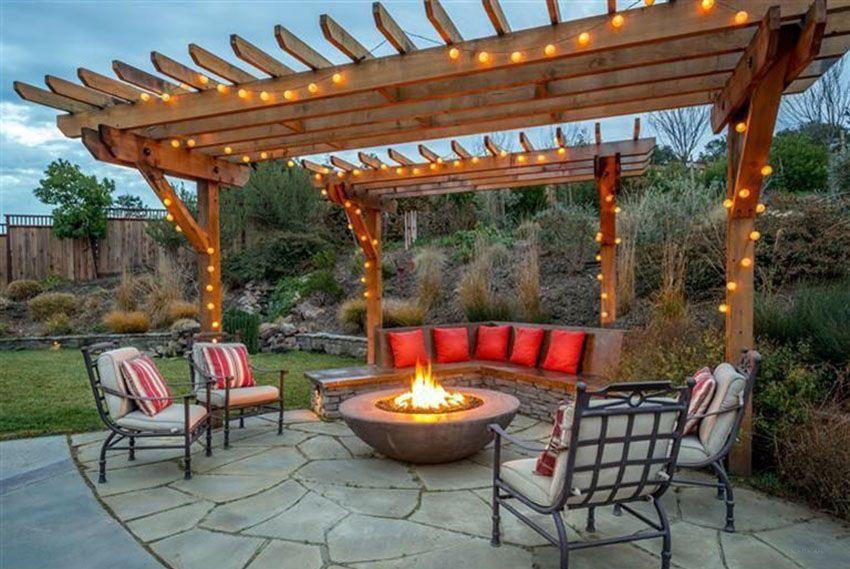 Pergola with Fireplace Best Of 50 Beautiful Pergola Ideas Design