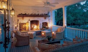 27 Inspirational Porch Fireplace