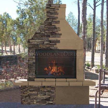 outdoor prefab fireplace kits inspirational mirage stone outdoor wood burning fireplace w bbq of outdoor prefab fireplace kits