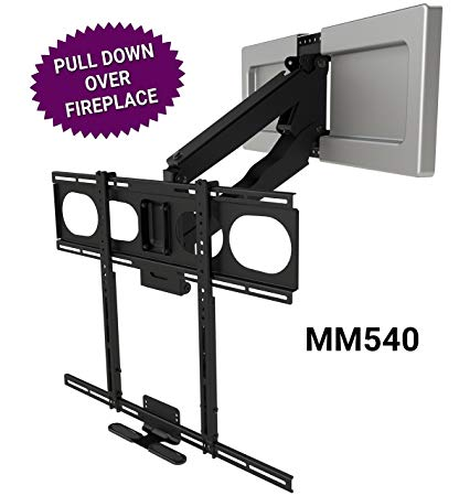 Pull Down Tv Mount Over Fireplace Elegant Mantelmount Mm540 Fireplace Pull Down Tv Mount