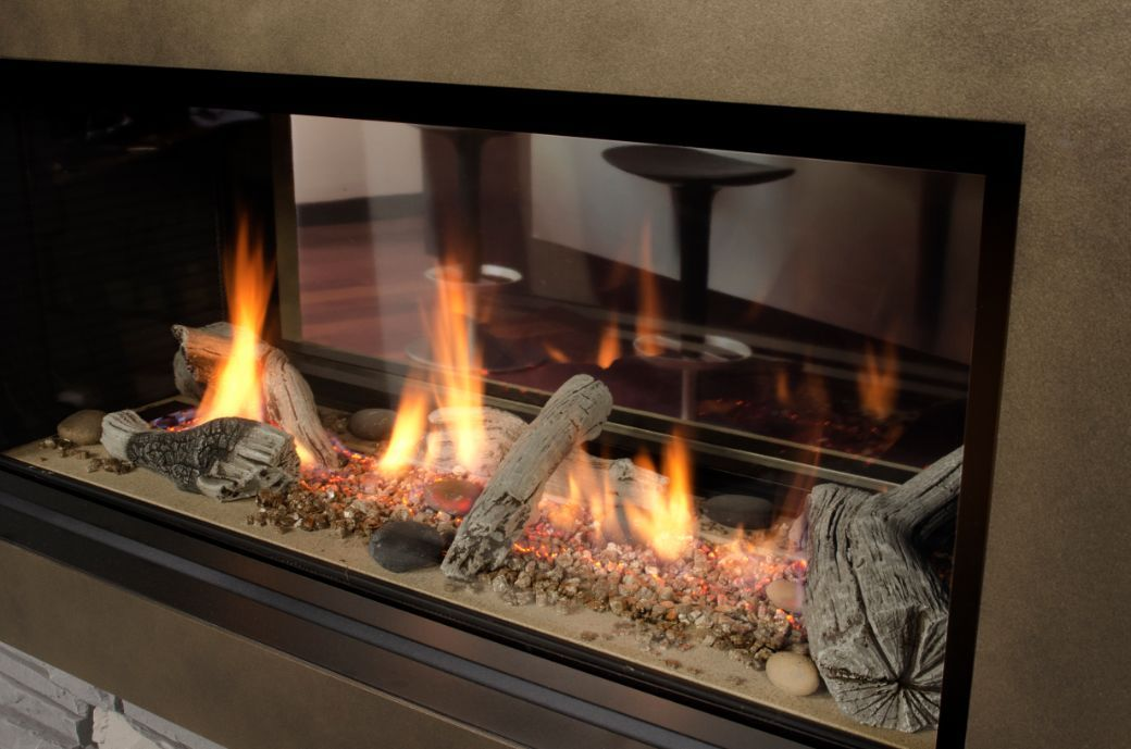 Quality Fireplace Fresh Valor L1 Linear 2 Sided Series Quality Fireplace & Bbq